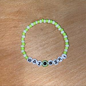 Disney Mike Wazowski beaded bracelet